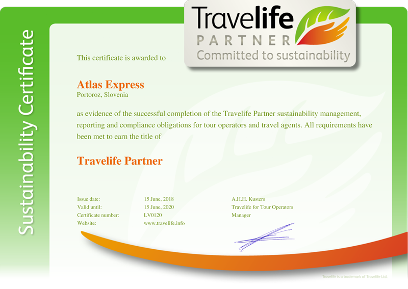travel life certificate