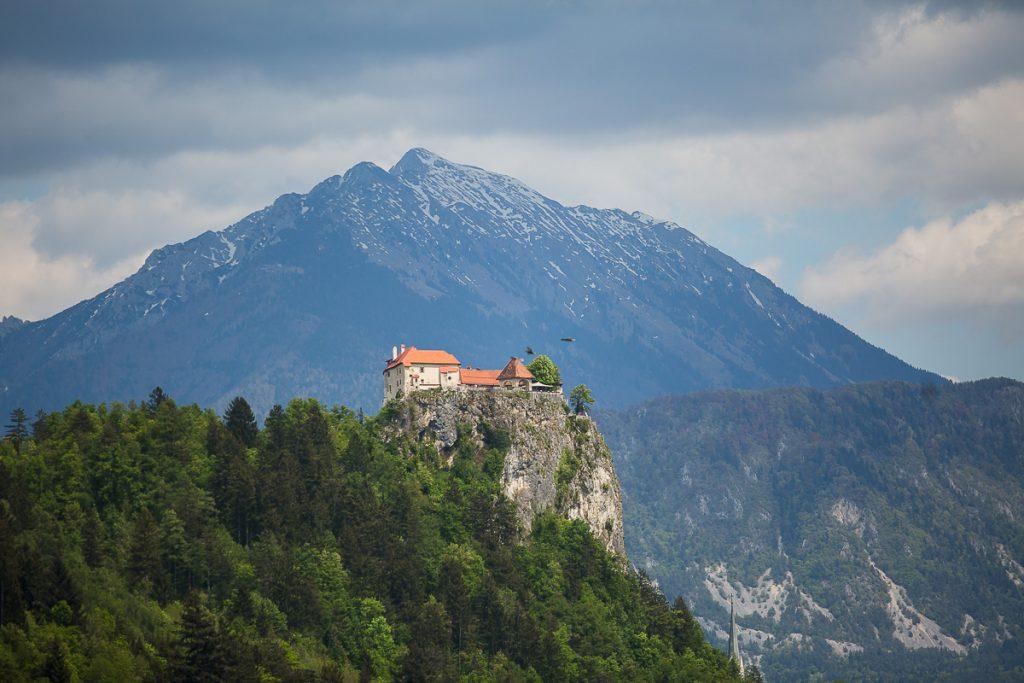 bled castle slovenian alps