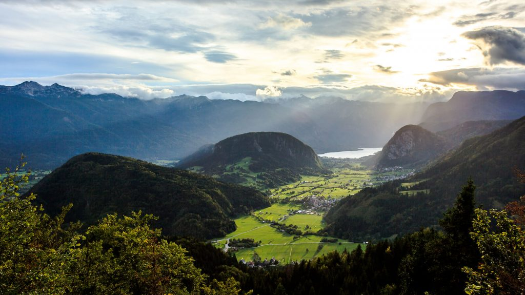 bohinj valley green