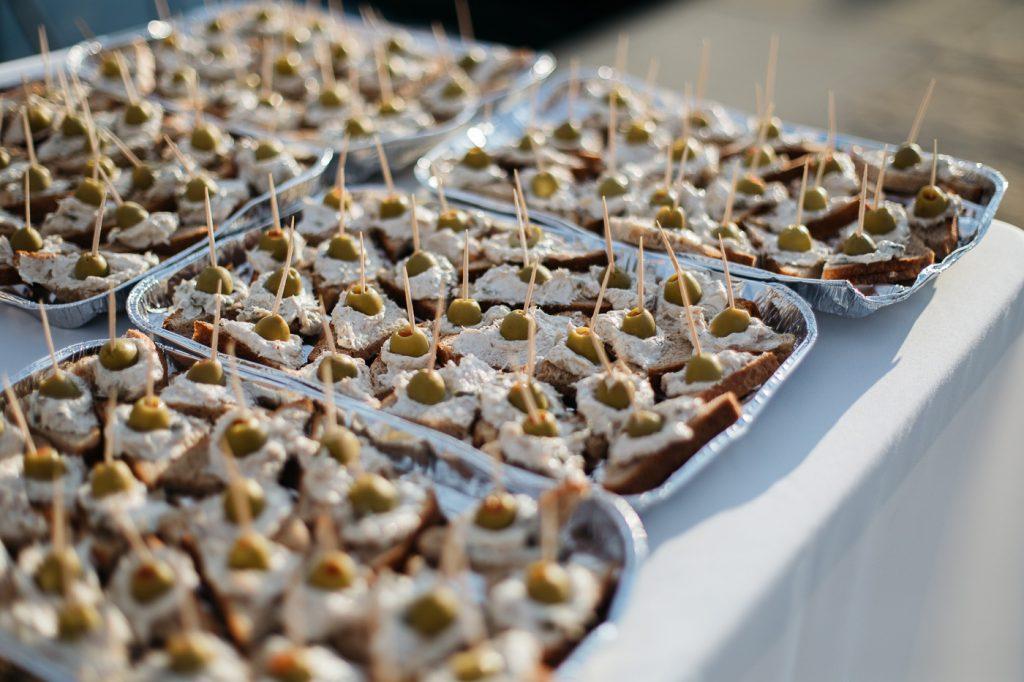 buffet dinner event slovenia