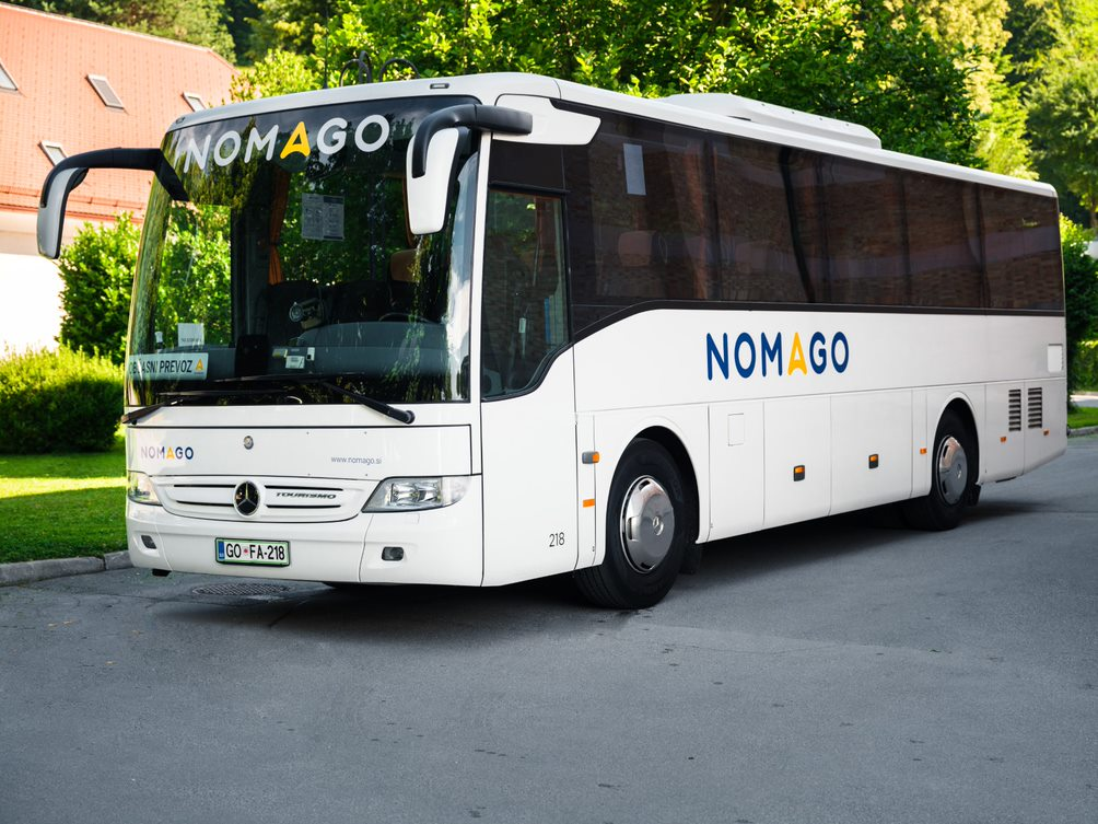bus fleet transportation slovenia