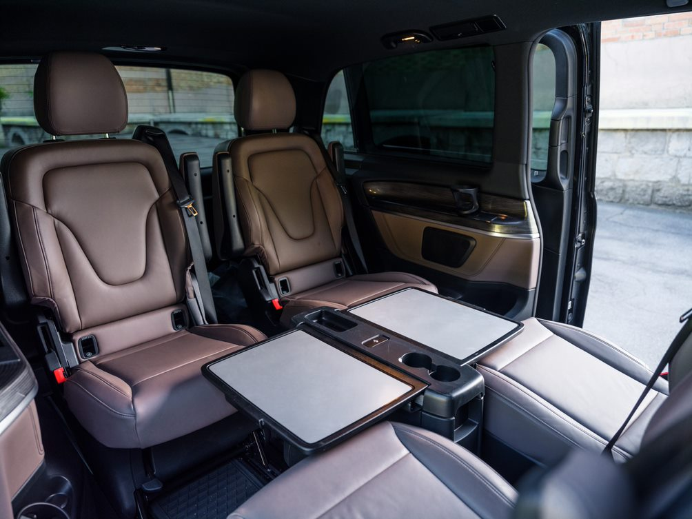business interior van