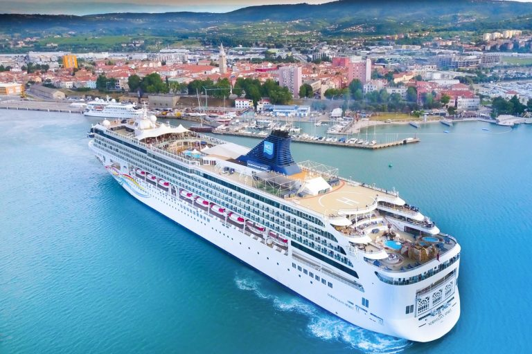 cruise ship port of koper slovenia