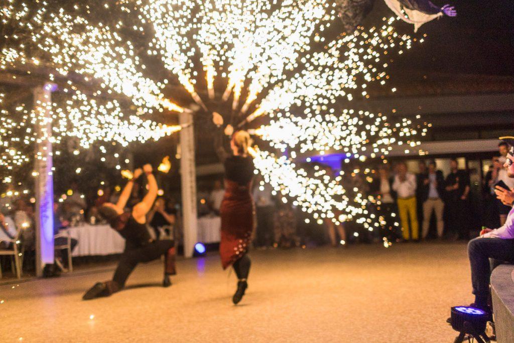fireworks dance show entertainment event