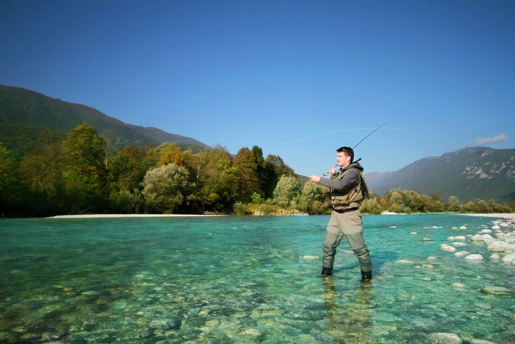 julian alps fisherman