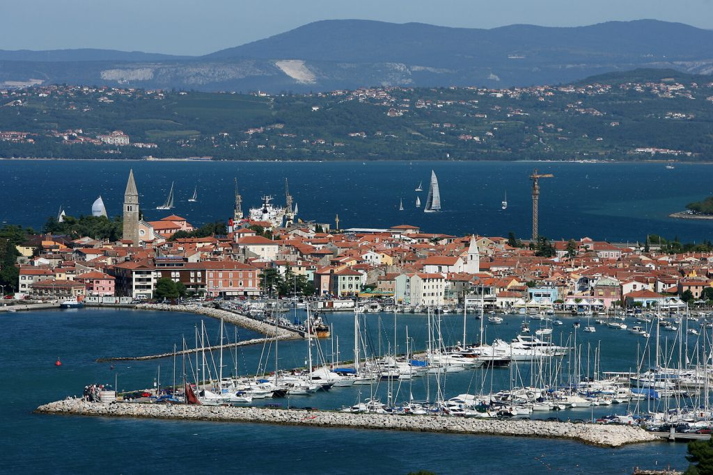 izola slovenia sailing sport activity