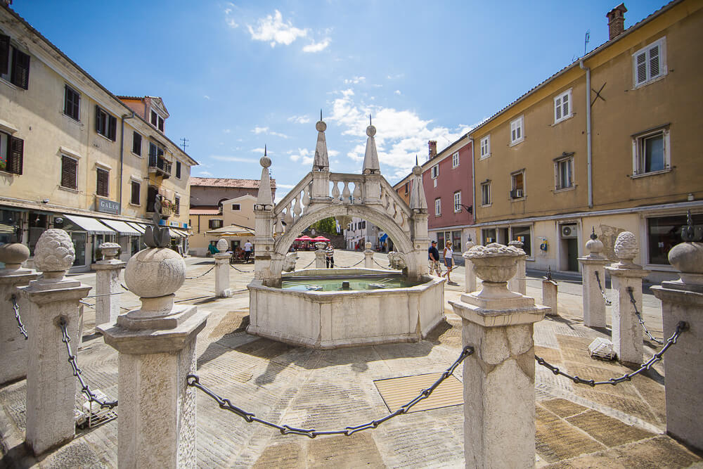 koper city preseren square