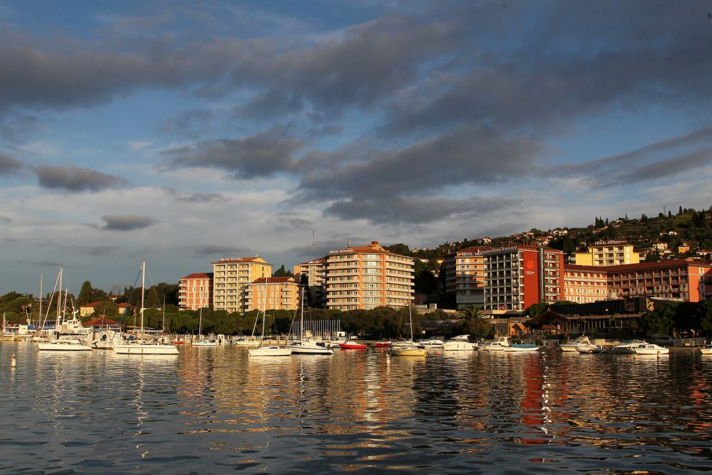 portoroz sea side resort