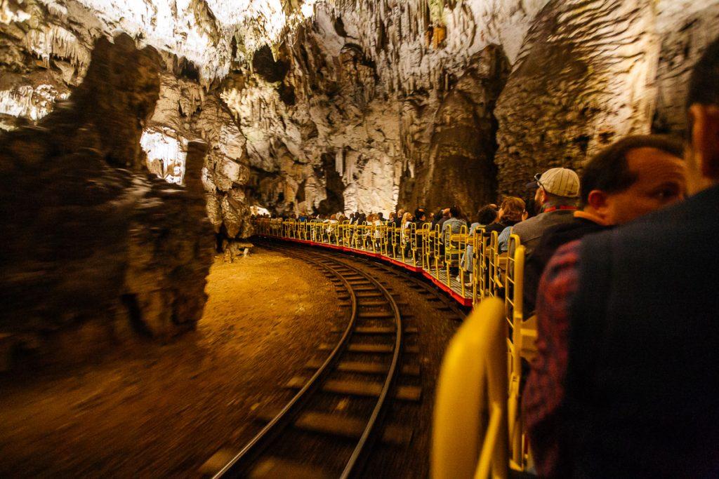postojna cave train journey