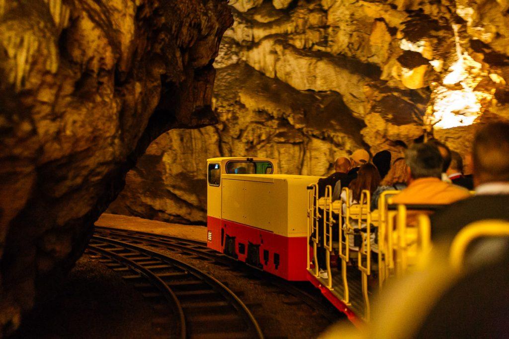 postojna cave train visit
