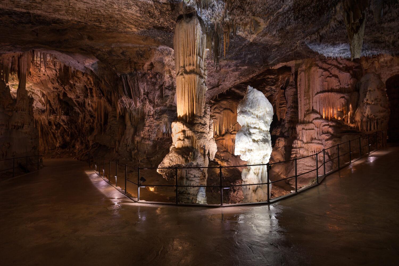 postojna cave stalagmite