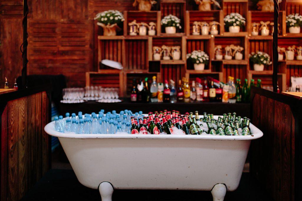private bar set up furniture