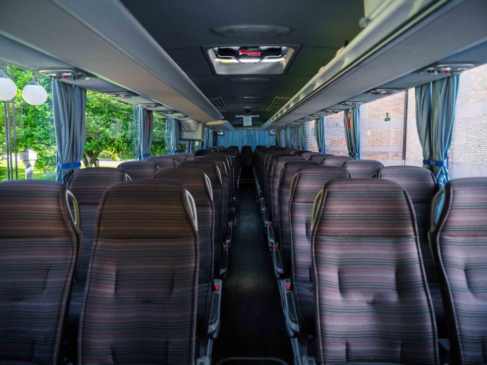 slovenia coach interior