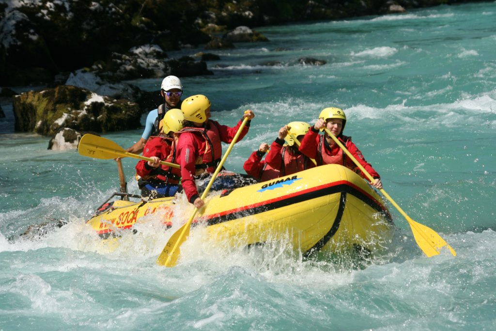 white water rafting soca river